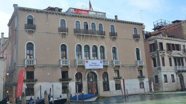 Fellini Otto e mezzo, Palazzo Benzon, Venise