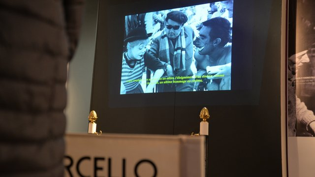 Fermeture temporaire de l'exposition Viva Fellini