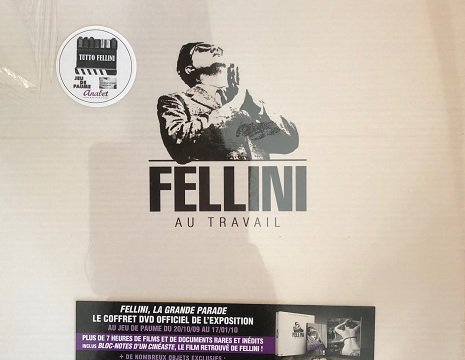 Prestige coffret - Fellini at work