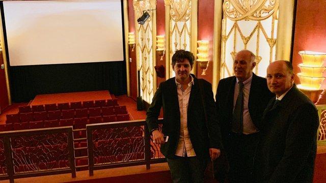 De g. à dr. : Nicolas Rouiller, Directeur, Domenico Mesiano, Vice-Président, Stéphane Marti, Président.