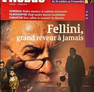 L'Hebdo - Fellini supplément Maestro del Cinema