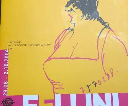 Les Dessins de Fellini, catalogue d'exposition