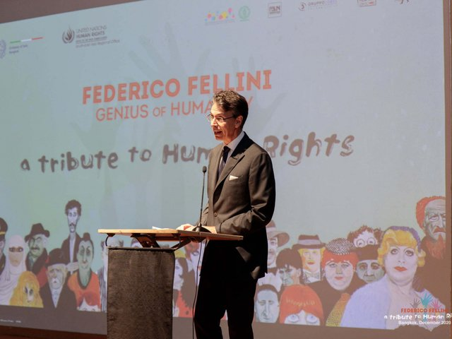 Fellini's exhibition in Bangkok